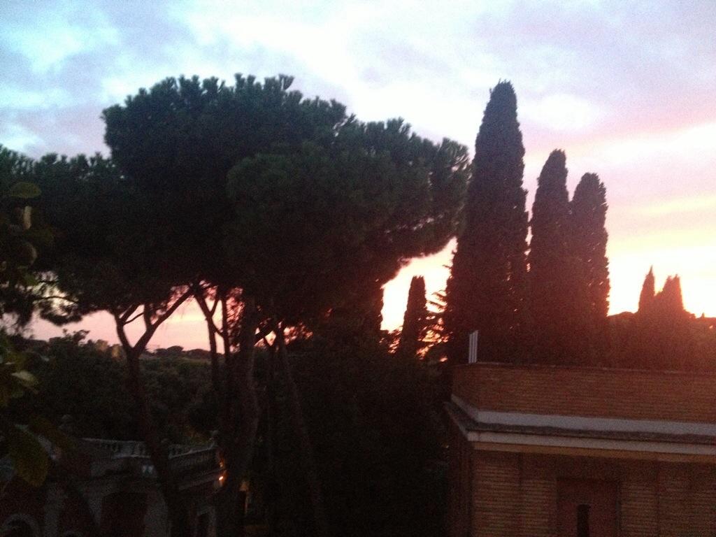 tramonto Roma estate