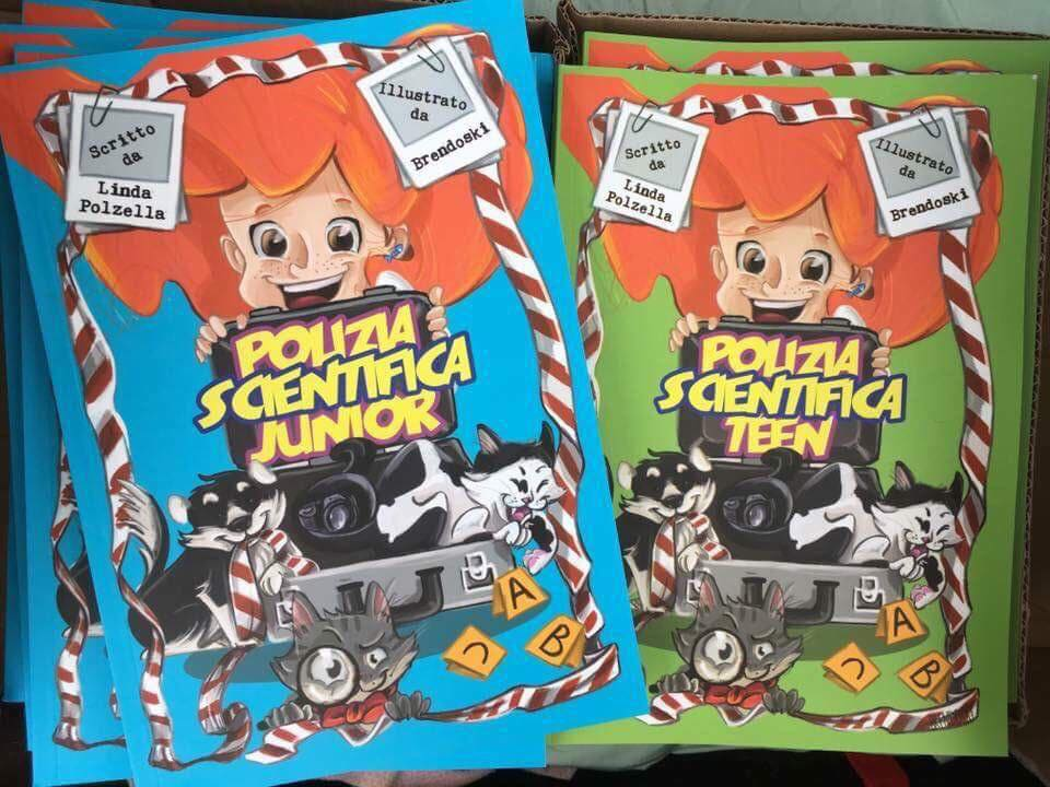 polizia scientifica junior e Teen